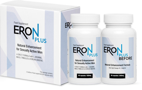 ERON PLUS is a positive change! Your sex life will enter a higher dimension of sensations and pleasures!
