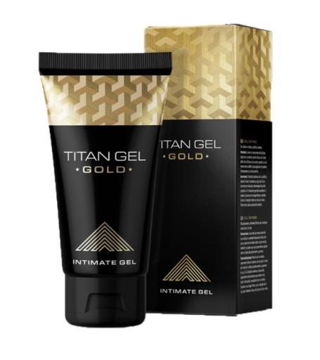 TITAN GEL GOLD do ta bëjë penisin tuaj të fortë si një shkëmb! Centimetra shtesë do t'ju japin më shumë mundësi seksuale!